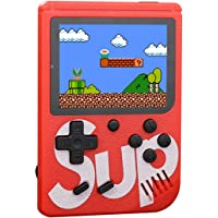 Retro Game Console, Handheld Games Consoles With 400 FC Games 3 Inch Retro Mini Game Player, 1020mAh Rechargeable and…
