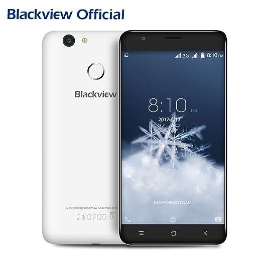 6 opinioni per Blackview E7S 5.5 pollici 3G Smartphone, Dual SIM Android 6.0 Cellulare