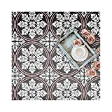 Edessa Tile Wall Furniture Floor Stencil for Painting S x 6