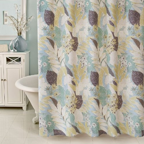 Botanica Fabric Shower Curtain