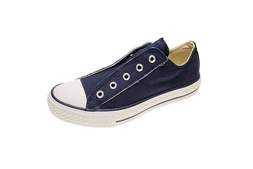 Converse Converse AS SLIP navy A10127 - Zapatillas de algodón para hombre: Amazon.es: Zapatos y complementos