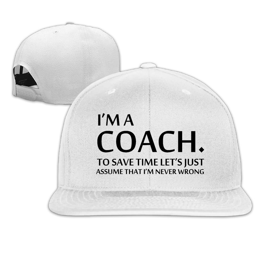 Bng Baseball Caps Im A Coach Save Time Hat Adjustable Strap Cotton Cap Dad  Hats for Men Women  Amazon.ca  Clothing   Accessories ec821b5eac1d
