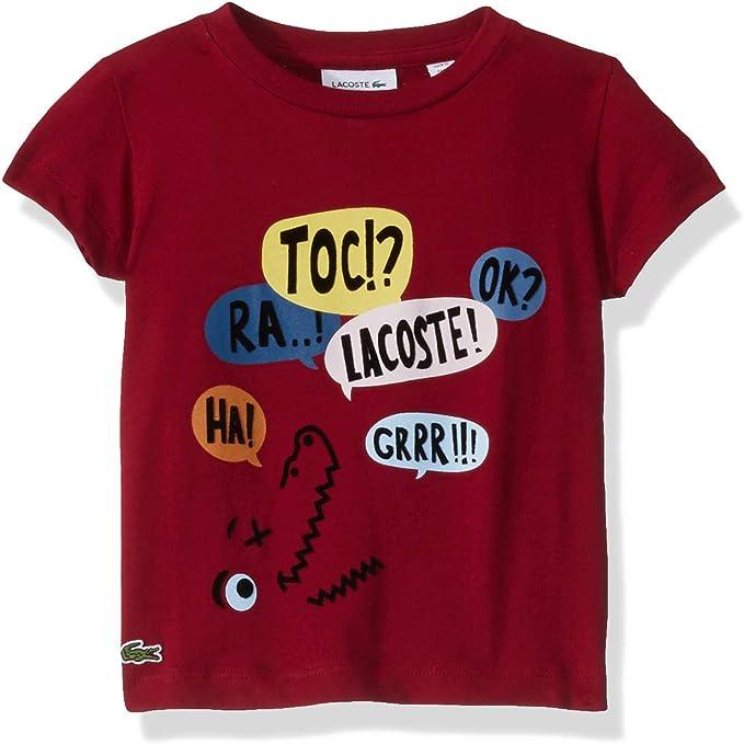 Lacoste Boy Multico Print T-Shirt