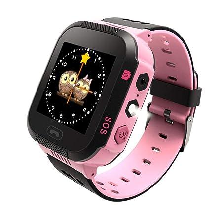 Schimer Niños SmartWatch Teléfono Smartwatches con SOS Chat de Voz ...