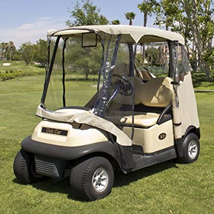 Amazon.com : Best Choice Products 4 Penger Golf Cart Cover ... on yamaha golf cart seat cover, yamaha drive golf cart, yamaha ez go golf cart enclosure,