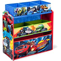 Blaze and the Monster Machines Multi-Bin Toy Organizer by Delta Children