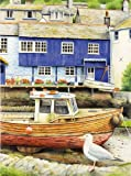 Watercolor Pencil Color by Number Painting Kit - Seaside View by Reeves