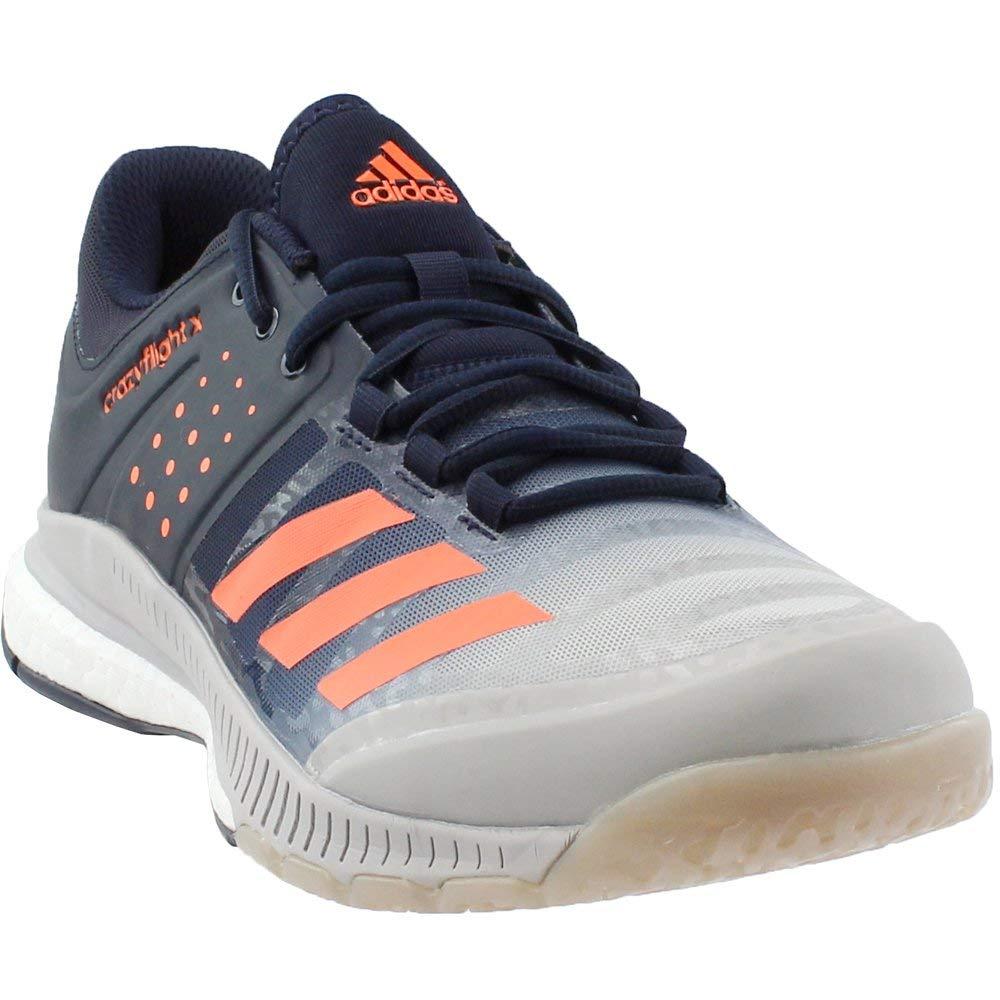 638d5ca58 Galleon adidas men crazyflight volleyball shoe legend ink hi res orange  grey two jpg 1000x1000 Orange