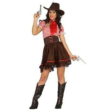 0440988b309aa sexy Cowgirl Kostüm für Damen Gr. XS/S - M, Größe:M