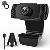 Webcam with Microphone,1080P HD Streaming Computer Webcam for PC Video Conferencing/Calling/Gaming,Laptop/Desktop Mac…