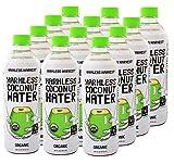 Harmless Harvest Organic Coconut Water, Original 16oz (Pack of 12)