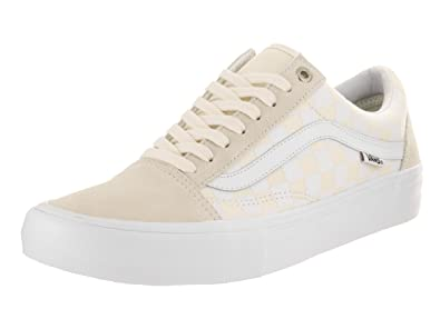 50936fd4b0080a Image Unavailable. Image not available for. Color  Vans Men s Old Skool Pro  (Rowan Zorilla) White Skate Shoe ...
