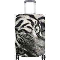 Mydaily Tiger Luggage Cover Fits 18-32 Inch Suitcase Spandex Travel Protector
