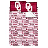 NCAA Oklahoma Sooners OFFICIAL College Full Sheet Set - Anthem Series