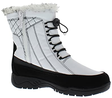 65b6d98bb95 Totes Womens Elle White Snow Boot