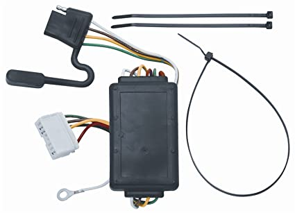 amazon com vehicle to trailer wiring harness connector for 07 12 rh amazon com 2010 acura mdx trailer wiring harness acura mdx trailer wiring