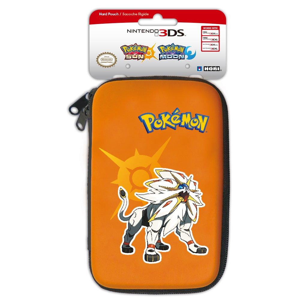 HORI Pokemon Sun & Moon Hard Pouch for New Nintendo 3DS XL