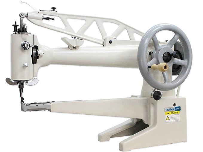 Amazon.com: techsew 2900L Brazo Largo Piel Patcher máquina ...