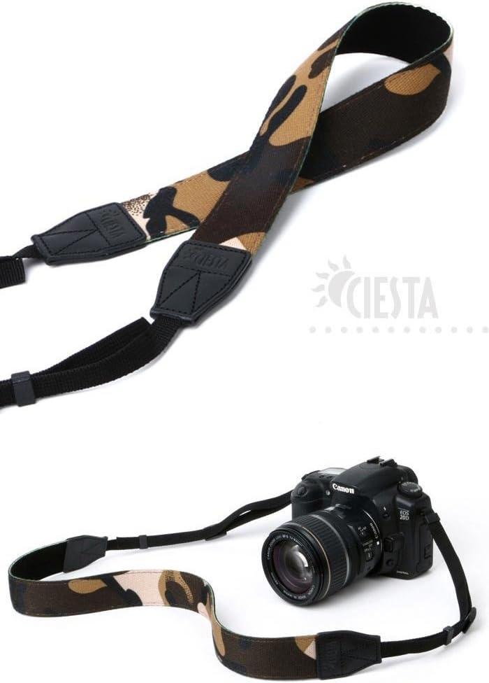Military Ciesta CSS-F38-004 Fabric Camera Strap for Toy Camera DSLR Mirrorless Camera