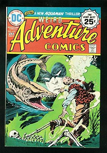 WEIRD ADVENTURE COMICS #437 1975-SPECTRE-AQUAMAN-DC COMICS-VF