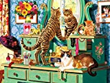 Buffalo Games - Cats Collection - Picture Purrfect - 750 Piece Jigsaw Puzzle