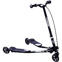 HOMCOM Kids 3 Wheels Foldable Speeder Scooter Tri Slider Winged Push Motion