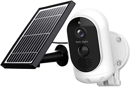 Solar Powered 2.4G WiFi Wireless HD 1080P Camera Night Vision Security Outdoor