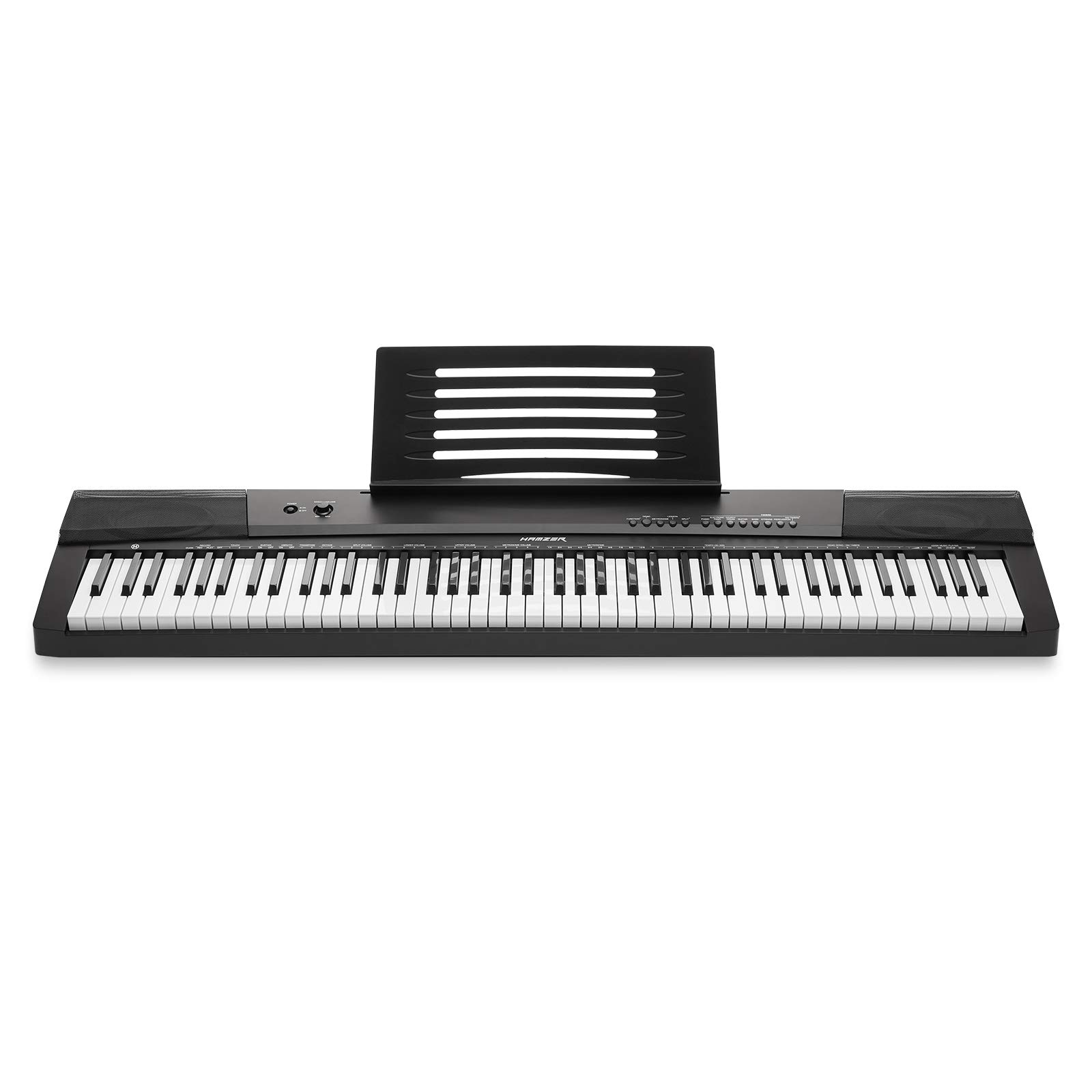 Hamzer 88-Key Electronic Keyboard Portable Digital Music Piano with Touch Sensitive Keys by Hamzer (Image #2)