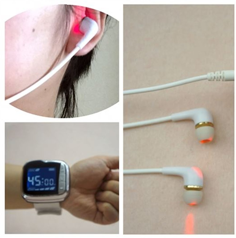 Tinnitus Laser Therapy Medicomat-24 Ear and Wrist Type Laser Therapy