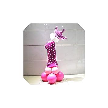 Látex fiesta de cumpleaños del confeti de los globos ...