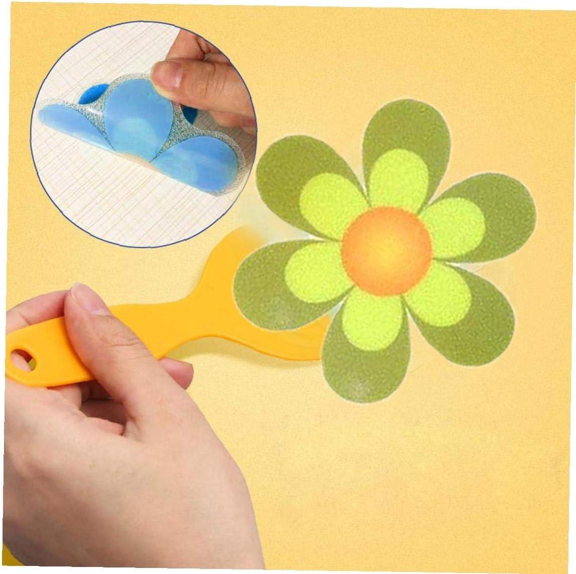 Non Slip Bathtub Shower Anti Slip Sticker Adhesive Wall Decals Bright Colors Large Anti Slip Mat Bathroom Sticker