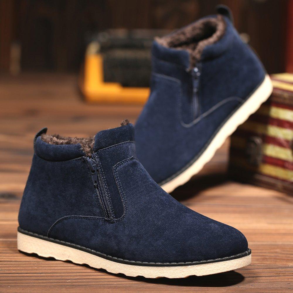 JACKSHIBO Herren Winter Wildleder Stiefeletten Mode Light Desert Boots  Kurzschaft Stiefel  Amazon.de  Schuhe   Handtaschen a509eaf99c