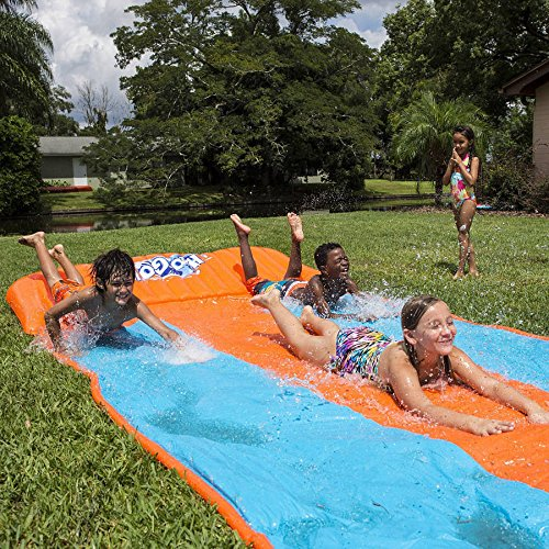 H2O Go Water Slide, Triple Lane (18' Go Game)