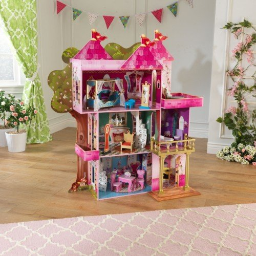 KidKraft Storybook Wooden Mansion with 14 Pieces of Furniture by KidKraft (Image #4)