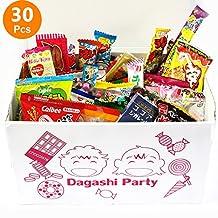 "Assorted Japanese Junk Food Snacks ""Dagashi"" Party Gift Variety Bulk (30 pcs)"