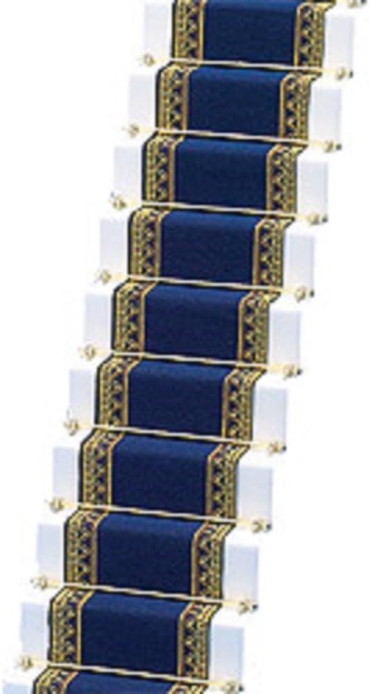 Amazon.es: Melody Jane Casa de Muñecas Tejido Alfombra de Escalera Azul Real Miniatura Suelo: Juguetes y juegos