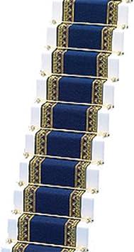 Melody Jane Casa de Muñecas Tejido Alfombra de Escalera Azul Real Miniatura Suelo: Juguetes y juegos - Amazon.es