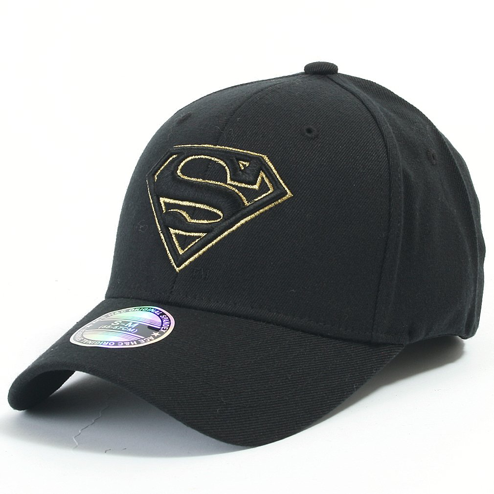 5e8b010473d ililily Superman Baseball Cap with Superman Shield Embroidery Fitted  Trucker Hat (ballcap-602-5-S)  Amazon.in  Clothing   Accessories