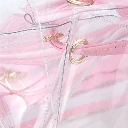 Amazon.com: Mochila transparente de plástico transparente ...