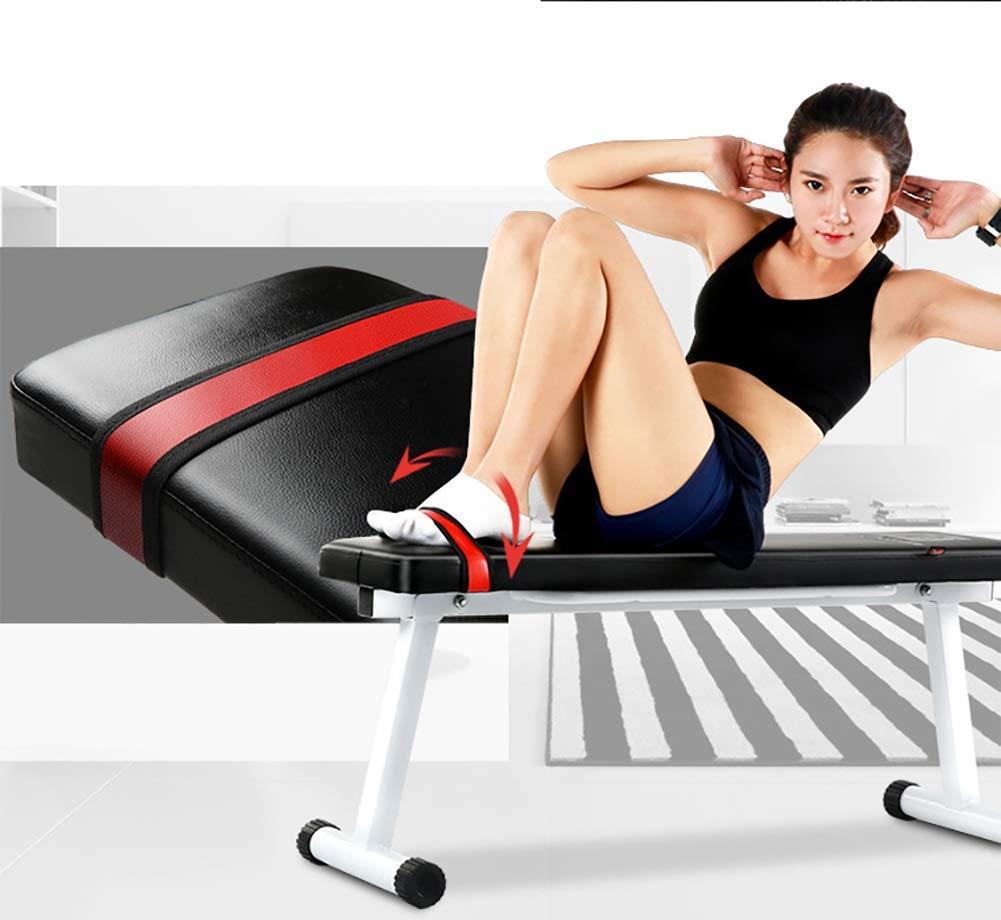 Bancos ajustables Fitness Utility Banco De Entrenamiento Con Pesas Plegable, Sit Up AB Banco Inclinado Para Entrenamiento De Todo El Cuerpo, ...