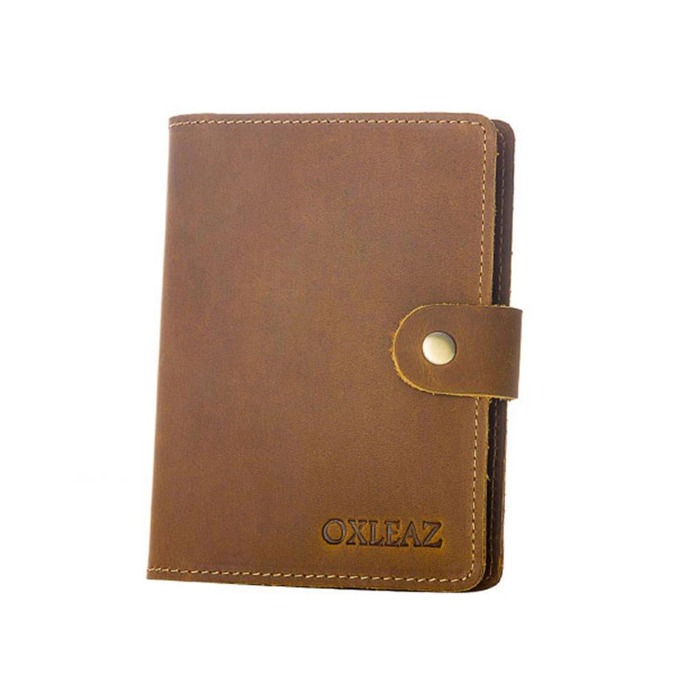 dfac164df01f Amazon.com: Travel Leather Passport Holder Retro Card Cases Purse ...