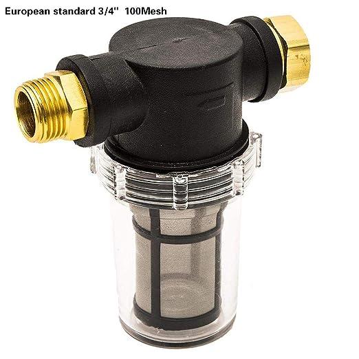 Yunt-11 Filtro de Agua para la Malla de jardín y la Lavadora a ...