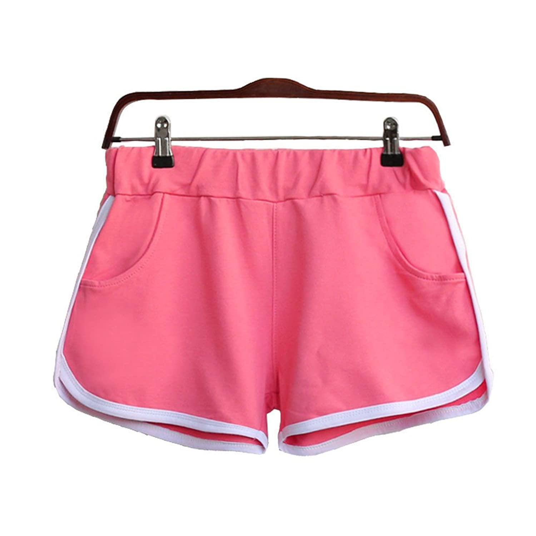 46bde1ef4 New Women Summer Pants Sports Shorts Gym Workout Waistband Skinny Yoga Short  ☆❤pants boys white cargo shorts cargo shorts girls sequin shorts dance boy  ...