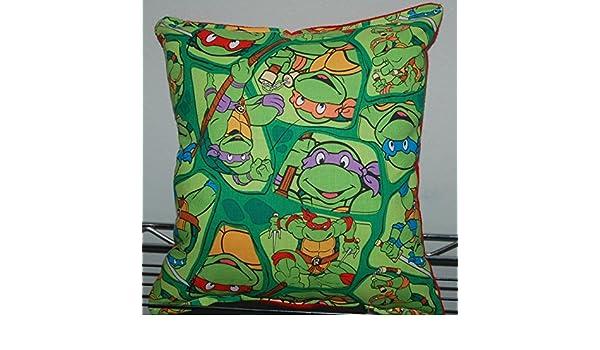 Tortugas ninja almohada TMNT cut outs almohada Leonardo ...