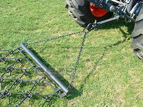 4' x 4' Variable Action Drag Chain Harrow - Overall Length: 90'' - 3/8'' Dia by Neat Attachments