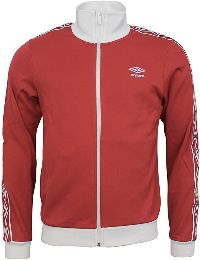 Mens Branded Umbro Stylish Casual Pockets Top Taped Track Zip Jacket Size S-4XL
