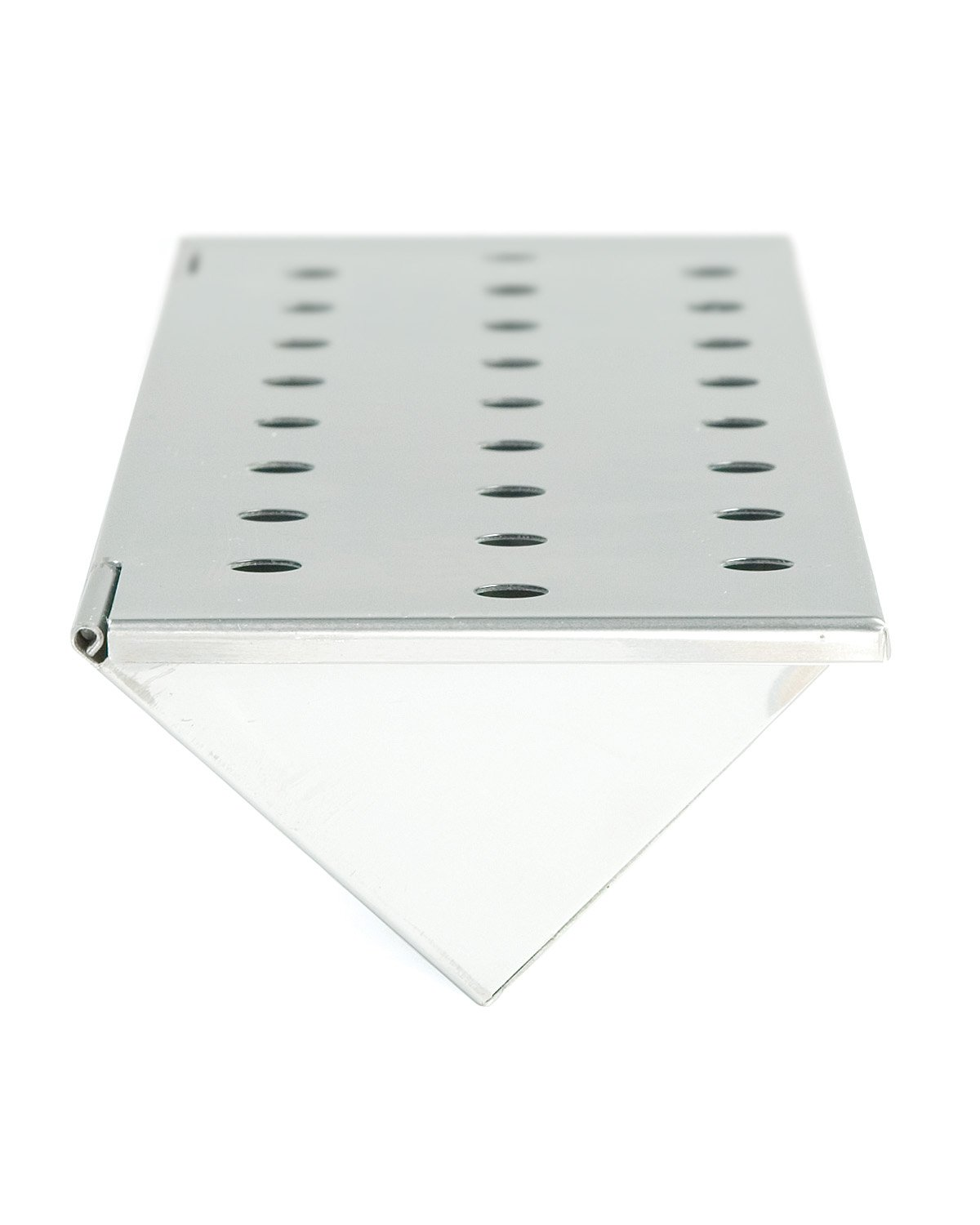 Charcoal Companion Stainless Steel V-Shape Smoker Box For Gas Grill Wood Chips (Long) - CC4066 by Charcoal Companion