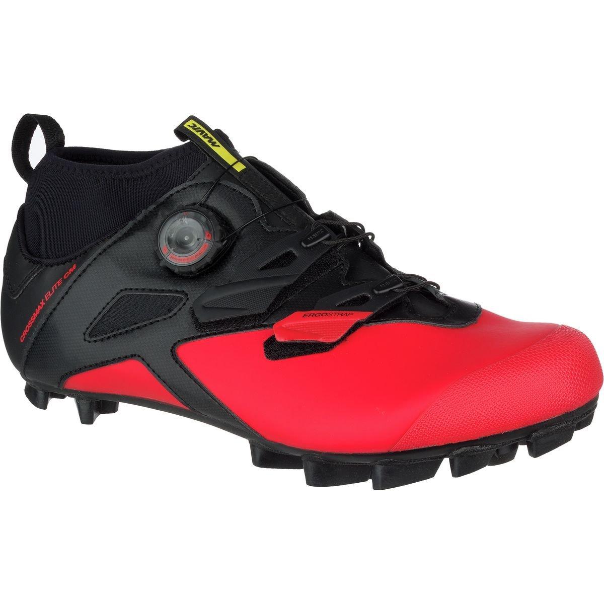 ade6c50147f Amazon.com: Mavic Crossmax Elite cm Cycling Shoe - Men's Black/Fiery  Red/Black, US 12.0/UK 11.5: Sports & Outdoors