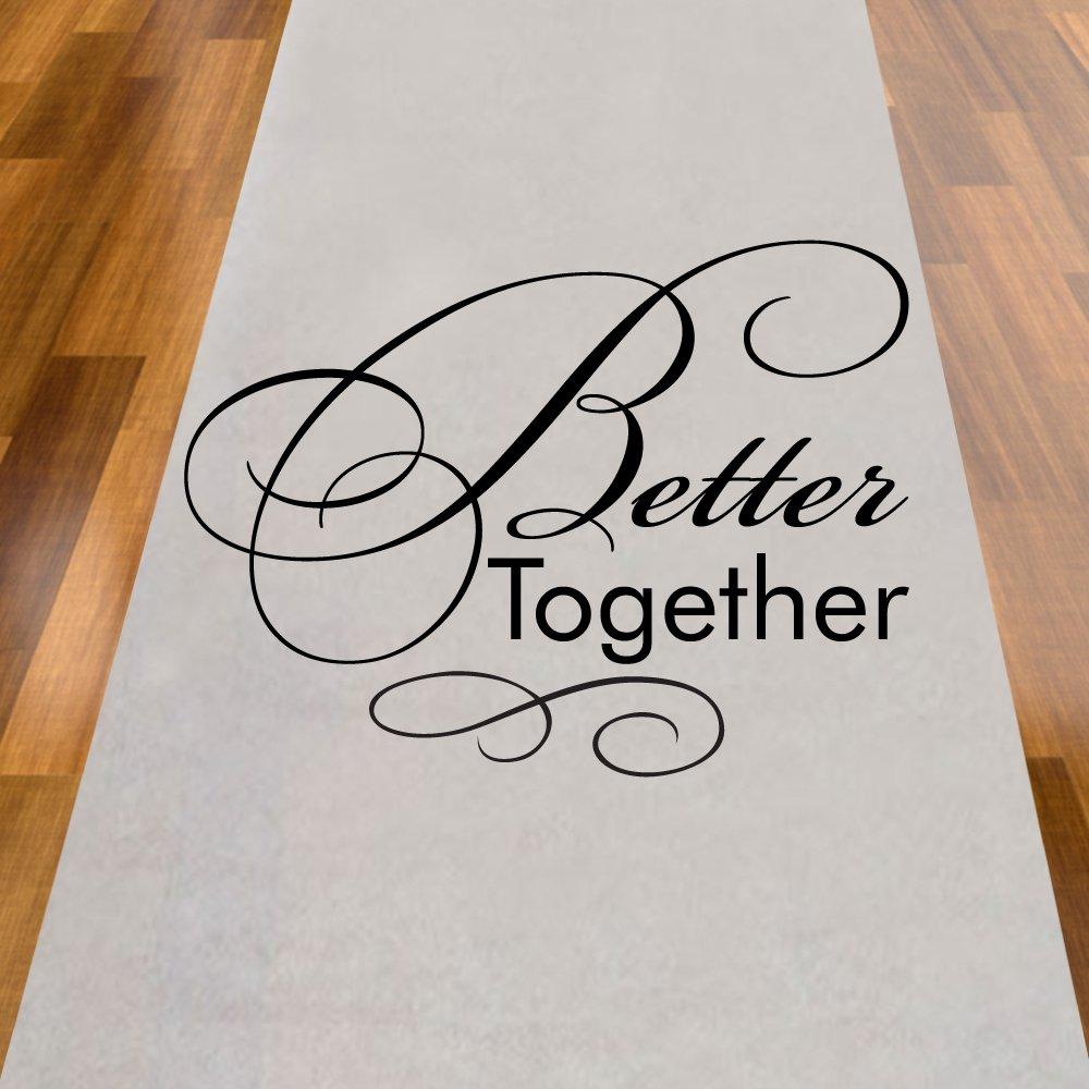 Better Together Aisle Runner
