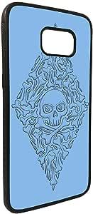 Bones and skull Printed Case forGalaxy S7 Edge